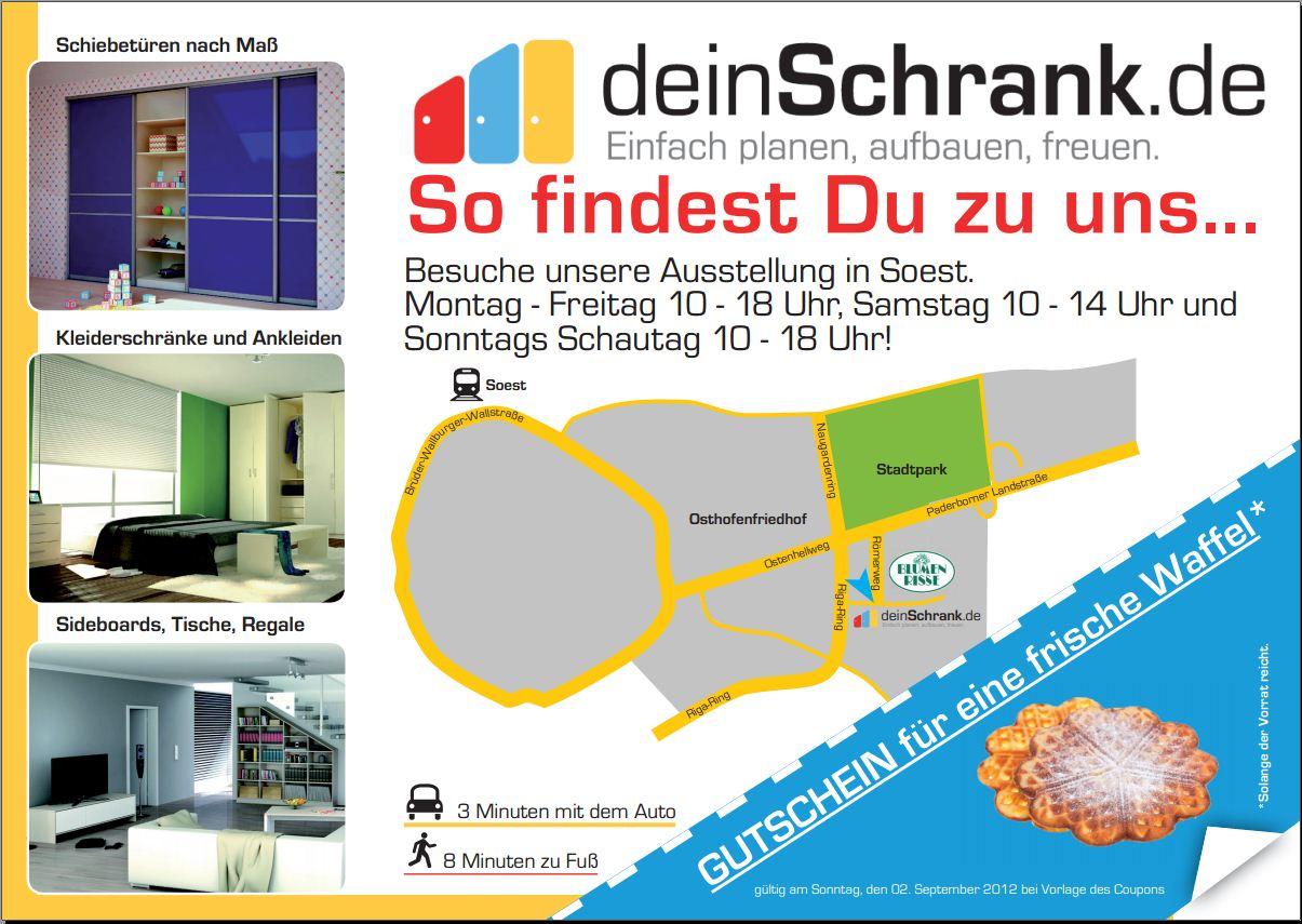 Maß-Möbel Ausstellung in Soest - Verkaufsoffener Sonntag am ...