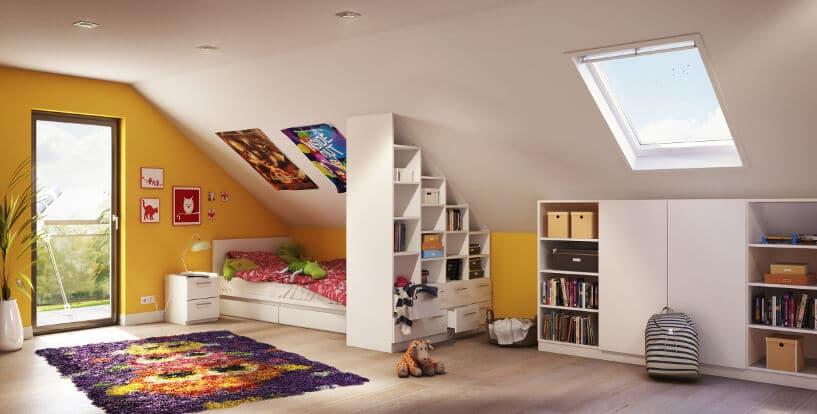 4 tipps dachschr ge einrichten sch n gestalten und optimal nutzen. Black Bedroom Furniture Sets. Home Design Ideas
