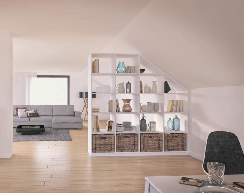raum teilen tipps tricks zur richtigen raumtrennung. Black Bedroom Furniture Sets. Home Design Ideas