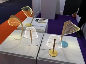 Tischlampen fotografiert auf der Ambiente Messe 2015