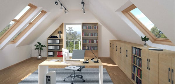 arbeitszimmer einrichten 5 tipps f r dein home office. Black Bedroom Furniture Sets. Home Design Ideas