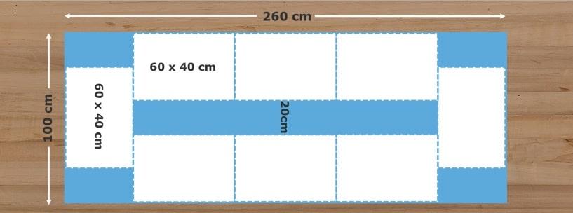 Küchentisch Breite