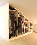 dachschr ge einbauschrank nach ma online selbst planen. Black Bedroom Furniture Sets. Home Design Ideas