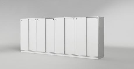 sideboard mit 8 schiebet ren nach ma online planen. Black Bedroom Furniture Sets. Home Design Ideas