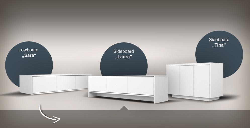 sideboards nach ma online planen. Black Bedroom Furniture Sets. Home Design Ideas