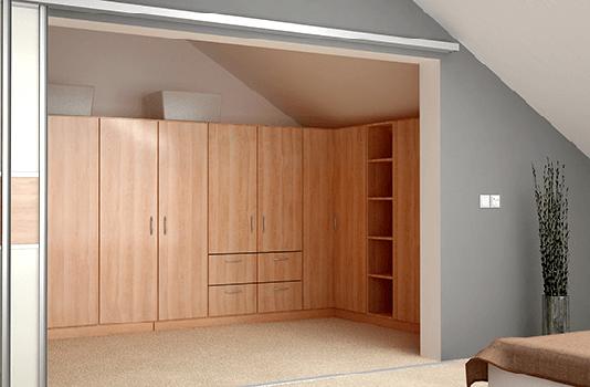 regale f r dachschr gen nach ma konfigurieren. Black Bedroom Furniture Sets. Home Design Ideas