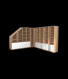 eckregale f r wohnzimmer nach ma online planen. Black Bedroom Furniture Sets. Home Design Ideas