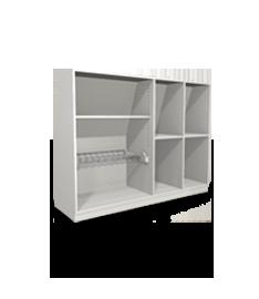 regal mit t ren online nach ma planen bestellen. Black Bedroom Furniture Sets. Home Design Ideas