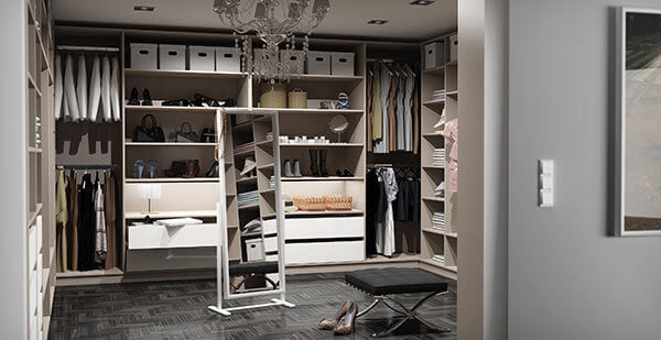 begehbarer kleiderschrank. Black Bedroom Furniture Sets. Home Design Ideas