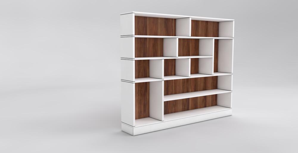 regale bis unter die decke nach ma konfigurieren. Black Bedroom Furniture Sets. Home Design Ideas