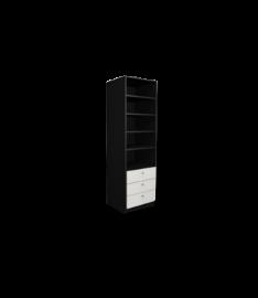 Schmales Regal Weiß schmale regale nach maß konfigurieren deinschrank de