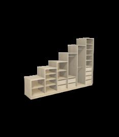 stufenregal nach ma online konfigurieren bestellen. Black Bedroom Furniture Sets. Home Design Ideas