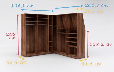 Eckregale für Wohnzimmer nach Maß online planen | deinSchrank.de