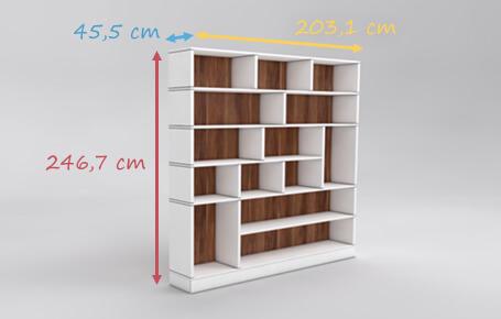 Wohnwand design stein  Wohnzimmer-Wohnwände nach Maß online konfigurieren | deinSchrank.de